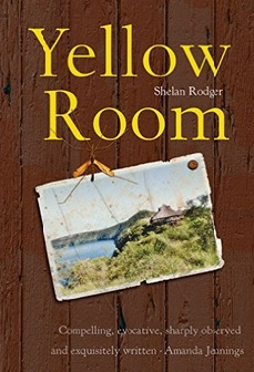 Shelan Rodger will present her new book YELLOW ROOM